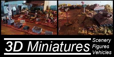 Scenery Vehicles Figures